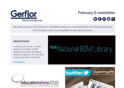 Cover e-Newsletter February 2016