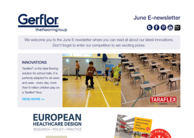 Cover e-Newsletter June 2016