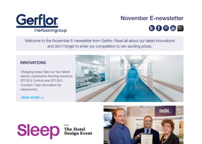 Cover e-Newsletter November 2015