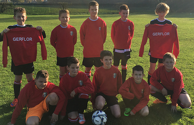 Gerflor Football Team Sponsorship