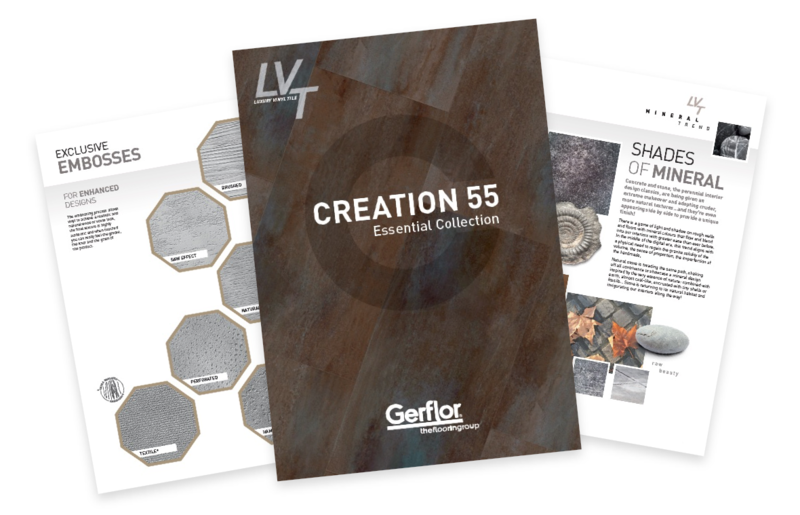 Creation 55 Essentials Collection Brochure