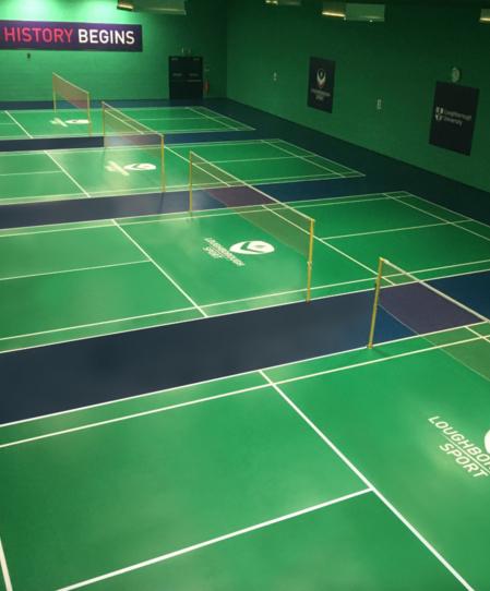 thumbnail: Loughborough University Badminton Centre