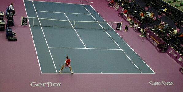 taraflex® tennis - vinyl sports flooring